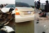 Ô tô trốn chốt kiểm tra nồng độ cồn húc bay học sinh cấp 2 xuống sông, 4 người thương vong