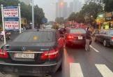 Công an vào cuộc xác minh vụ hai ô tô Mercedes Benz cùng biển số