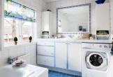 Những vị trí không nên đặt máy giặt trong nhà