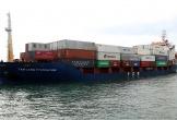 Cảng quốc tế Lào - Việt đón chuyến tàu container đầu tiên