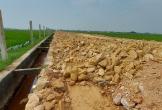 Can Lộc - Hà Tĩnh: Nhà thầu thi công đường Thuần Thiện sử dụng đất nền có đúng như thiết kế?