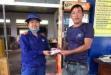 Hà Tĩnh: Nhân viên cửa hàng xăng dầu trả lại hơn 22 triệu đồng cho tài xế xe tải
