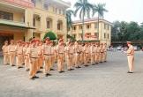 Công an Hà Tĩnh ra quân cao điểm bảo đảm ATGT dịp lễ 30/4 - 1/5 và bảo vệ bầu cử