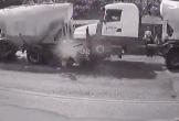 Clip: Ô tô con bị xe bồn