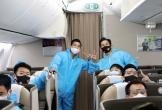 Hai ca dương tính trên chuyến bay đưa đội tuyển Việt Nam về nước