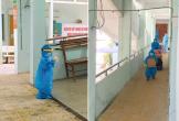 Xót xa khoảnh khắc bé trai 5 tuổi cùng mẹ ôm đồ rời khỏi khu cách ly để đến bệnh viện điều trị COVID-19