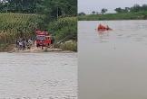 Bỏ lại dép trên cầu Đô Lương, người phụ nữ gieo mình xuống sông