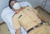5 chiến sĩ công an Hà Tĩnh hiến máu cứu sản phụ trong đêm