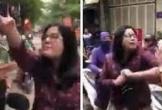 Người phụ nữ thóa mạ, cắn tay công an tham gia chống dịch