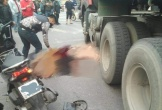 Người phụ nữ bị xe tải cán tử vong sau va chạm giữa 2 xe máy