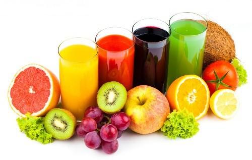 Hoa quả , thực phẩm giầu vitamin C có thể giúp hạ men gan.