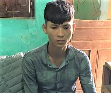 Nguyễn Văn Nam tại cơ quan điều tra. Ảnh: Hải Đăng.