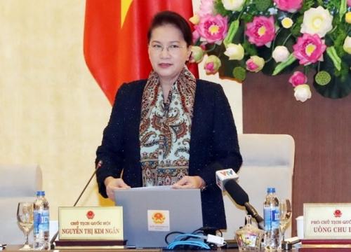 """Chủ tịch Quốc hội Nguyễn Thị Kim Ngân: """"Tôi đồng ý với việc tổ chức lao động ngoài trại nếu phạm nhân được hưởng thành quả lao động xứng đáng""""."""