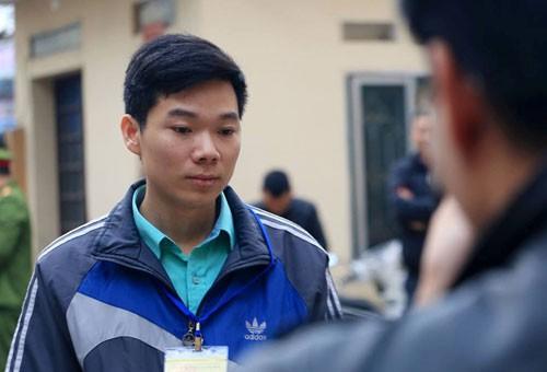 Bị cáo Hoàng Công Lương. Ảnh: PHI HÙNG